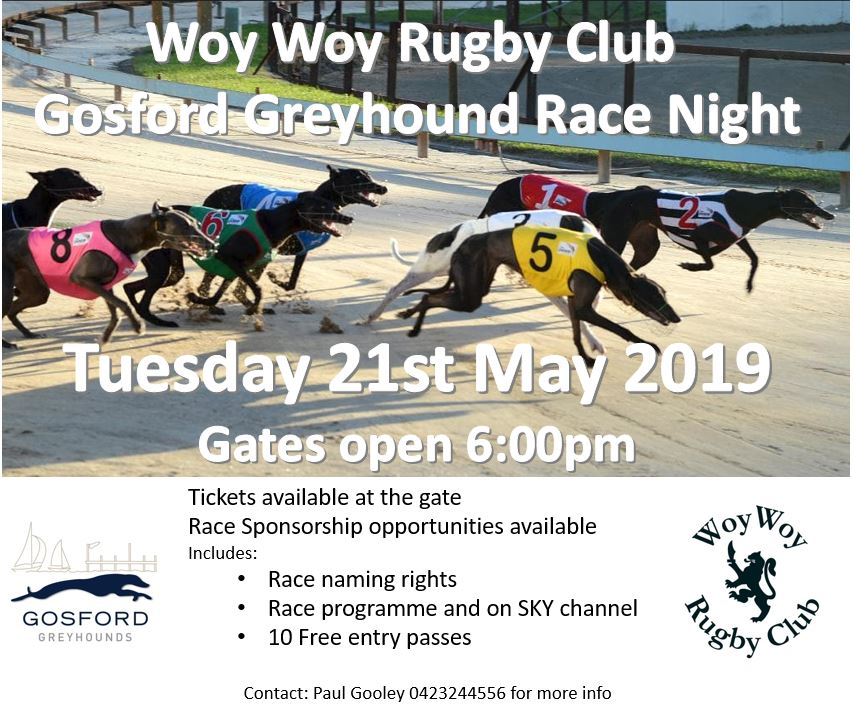 Greyhound Race Night
